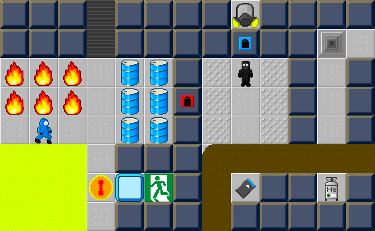 Hazmat Hijinks, a Challenging Puzzle Adventure Game
